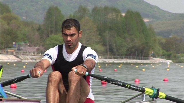 Iraqi rower Haider Rashid's last chance to qualify for the London 2012 Olympics.