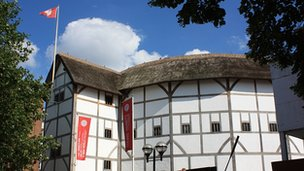 Globe theatre, Bankside