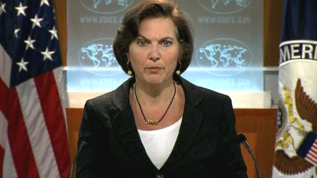 US state department spokeswoman Victoria Nuland