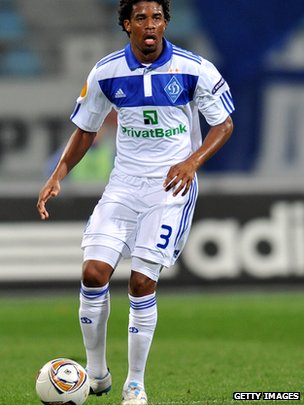 Dynamo Kiev centre-back Betao