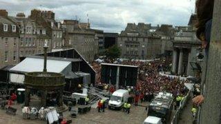 Aberdeen Castlegate Square