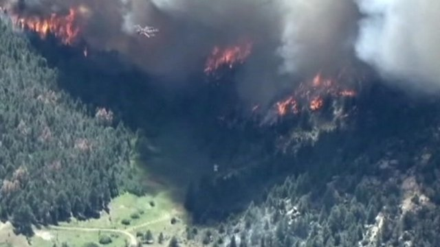 Wildfires in Colorado 11 June 2012