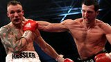 Mikkel Kessler fighting Carl Froch