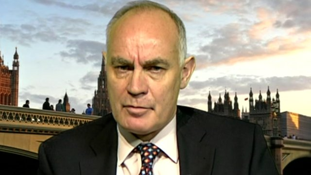 Justice minister Crispin Blunt