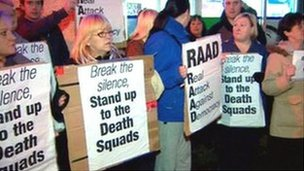 RAAD protest