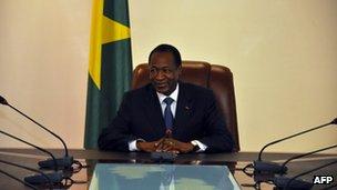 Burkina Faso President Blaise Compaore