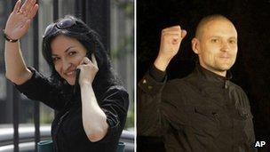 Sergei and Anastasia Udaltsov