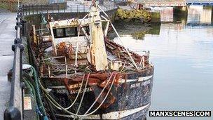 Solway Harvester wreck