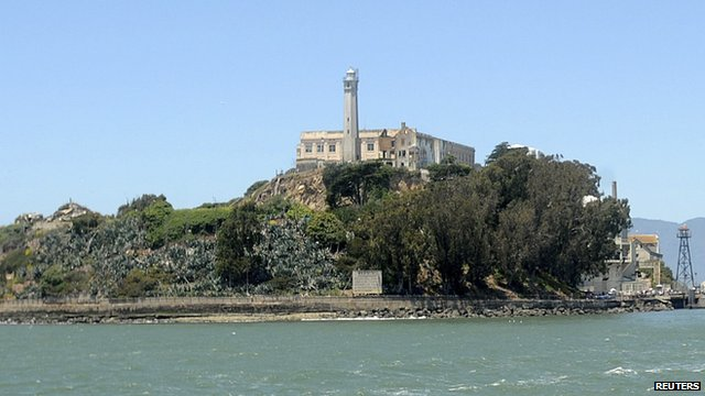 Alcatraz island