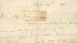 Bronte letter