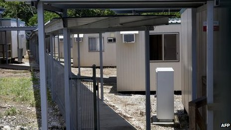 File photo: Detention centre on Australia's Christmas Island