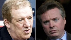 Sir David Murray and Craig Whyte