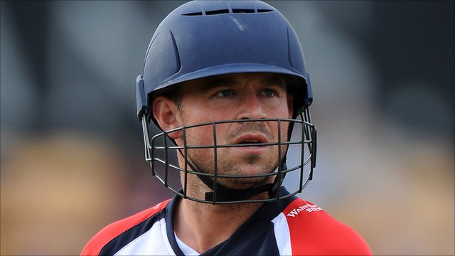 Lancashire wicket-keeper Gareth Cross