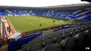 Birmingham City's St Andrews stadium