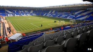 Birmingham City's St Andrews stadium