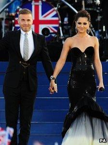Gary Barlow and Cheryl