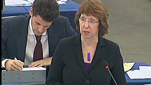 EU foreign affairs chief Catherine Ashton