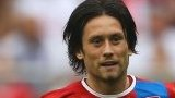 Tomas Rosicky of Czech Republic (right)