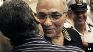 File image of presidential candidate Ahmed Shafiq