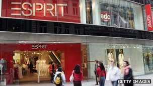 An Esprit showroom