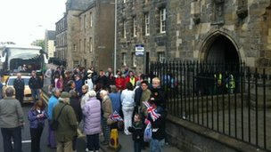 St Andrews awaits the flame