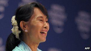 File photo: Aung San Suu Kyi