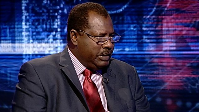 Abdullahi Alazreg -Sudan�s Ambassador to the United Kingdom and Ireland