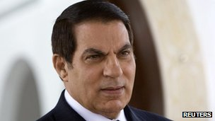  Zine el-Abidine Ben Ali, 2008 file photo