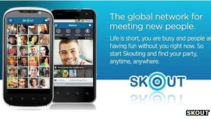 Skout screenshot