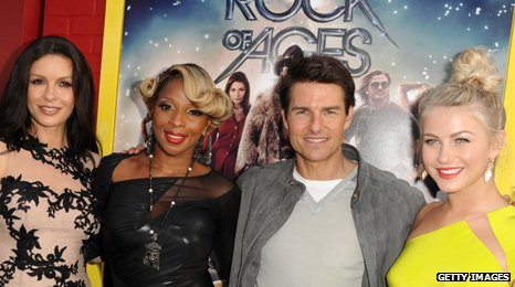 Catherine Zeta-Jones, Mary J. Blige, Tom Cruise and Julianne Hough