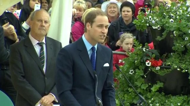 Duke of Cambridge, Prince William