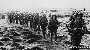 British troops in the Falklands