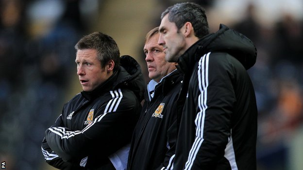 Nick Barmby, Steve Wigley and Stuart Watkiss
