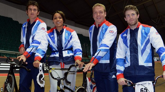 Sir Chris Hoy and Shanaze Reade will lead the GB charge for cycling gold