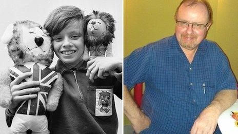 Leo Hoye in 1966 and 2012