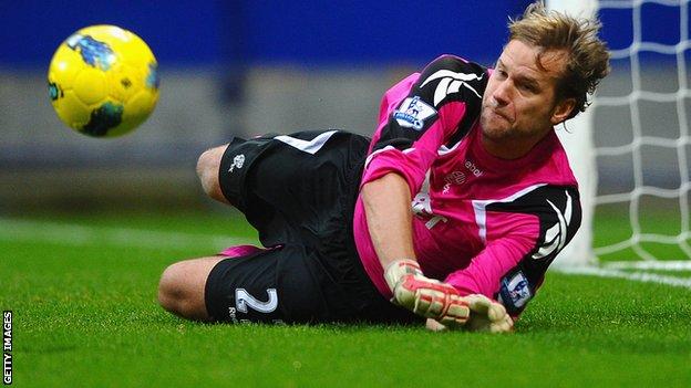 New West Ham keeper Jussi Jaaskelainen