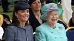 The Duchess of Cambridge and The Queen at Vernon Park