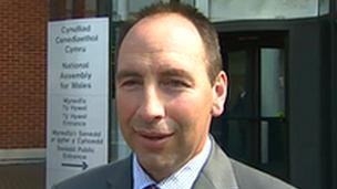 Pembrokeshire council leader Jamie Adams