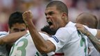 Pepe gives Portugal the lead
