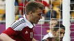Bendtner scores for Denmark