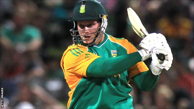 Somerset opener Richard Levi in action for South Africa