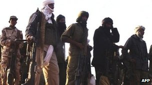 MNLA fighters, photo from the MNLA's website