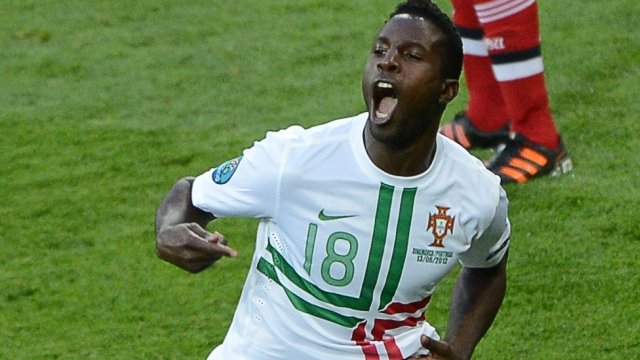 Silvestre Varela fires Portugal's into the lead