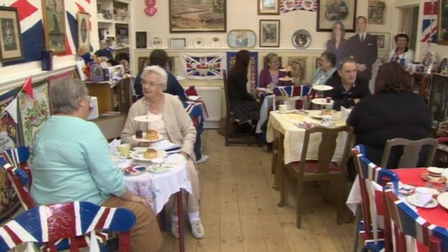 Royal Teas tearoom in Stanhope