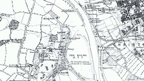1844 map of Penwortham