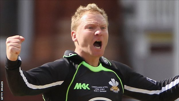 Surrey off-spinner Gareth Batty