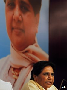 Dalit leader Mayawati 