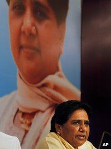 Dalit leader Mayawati