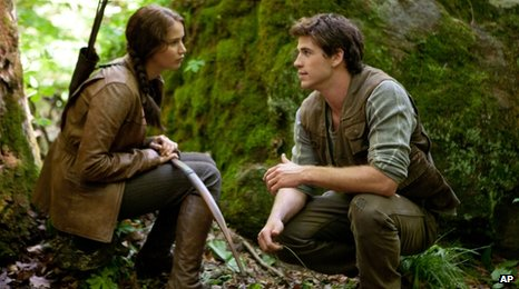 Scene from Hunger Games film