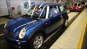 Mini on production line